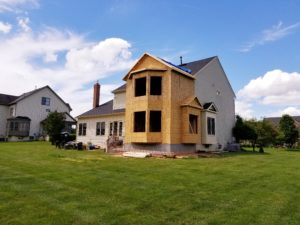 home addition with big windows in Frederick, MD